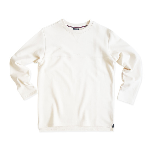 [CSX™] ORGANIC COTTON SWEATSHIRT - NATURAL