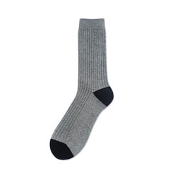 [Urban Classic Rib Socks] Dove